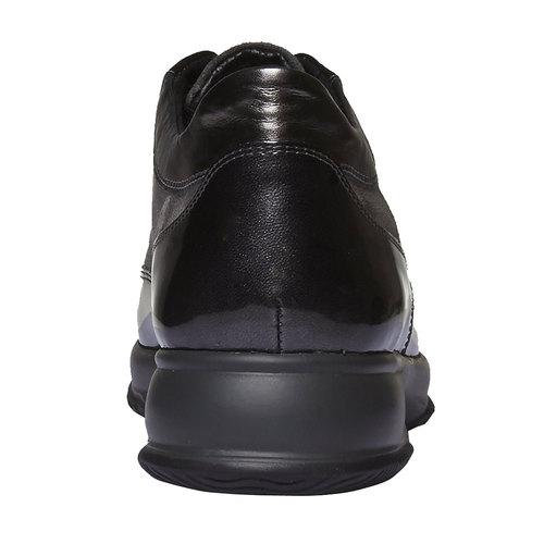 Sneakers da donna in pelle bata, grigio, 623-2229 - 17