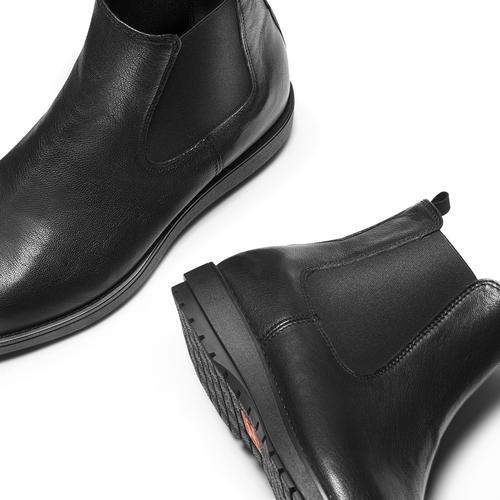 Scarpe da uomo in stile Chelsea Boots flexible, nero, 894-6233 - 19