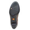 Stivali in pelle da donna con fibbie flexible, grigio, 693-2358 - 26