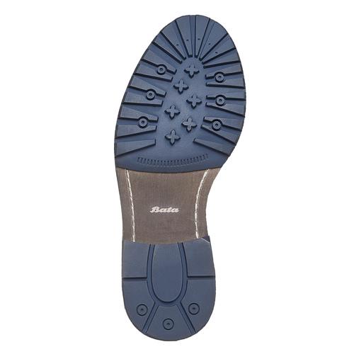 Scarpe da uomo alla caviglia bata, viola, 893-9357 - 26