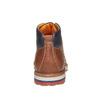 Scarpe da uomo in pelle weinbrenner, marrone, 894-3403 - 17