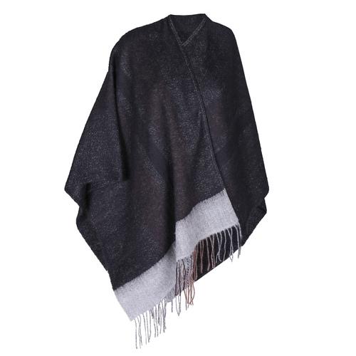 Poncho da donna bata, nero, 909-6346 - 13