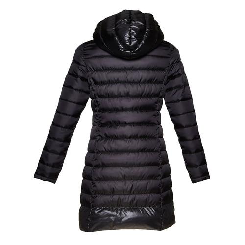 Giacca trapuntata da donna con cappuccio bata, nero, 979-6643 - 26