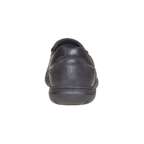 Scarpe da uomo in pelle bata, nero, 834-6126 - 17