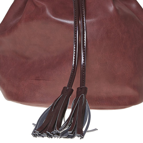 Borsetta in stile Bucket Bag bata, rosso, 961-5884 - 17