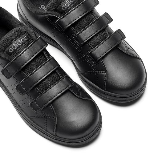 Sneakers da bambino con chiusure a velcro adidas, nero, 301-6168 - 19