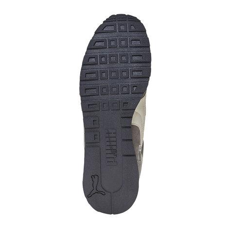 Sneakers in pelle da uomo puma, grigio, 803-2311 - 26