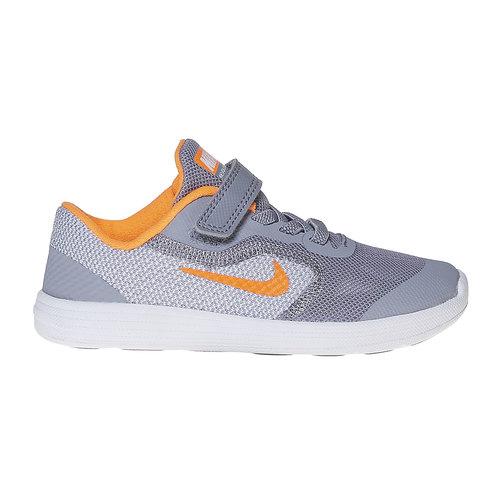Sneakers da bambino nike, grigio, 109-2322 - 15