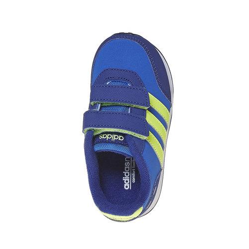 Sneakers da bambino con chiusure a velcro adidas, viola, 101-9913 - 19