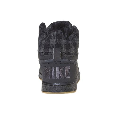 Sneakers da uomo sopra la caviglia nike, nero, 801-6632 - 17