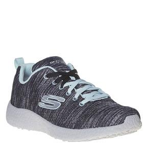 Sneakers con motivo striato skechers, nero, 509-6354 - 13