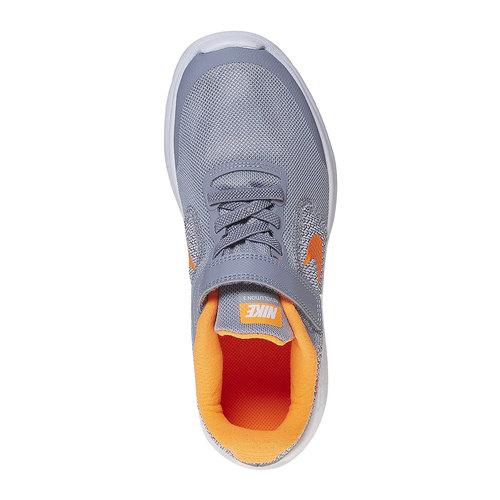Sneakers da bambino nike, grigio, 309-2322 - 19
