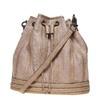 Borsetta in stile Bucket Bag bata, grigio, 961-2226 - 26