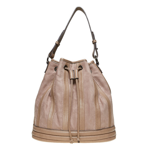 Borsetta in stile Bucket Bag bata, grigio, 961-2226 - 19