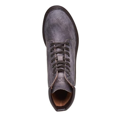 Scarpe alla caviglia con suola massiccia weinbrenner, grigio, 594-2721 - 19