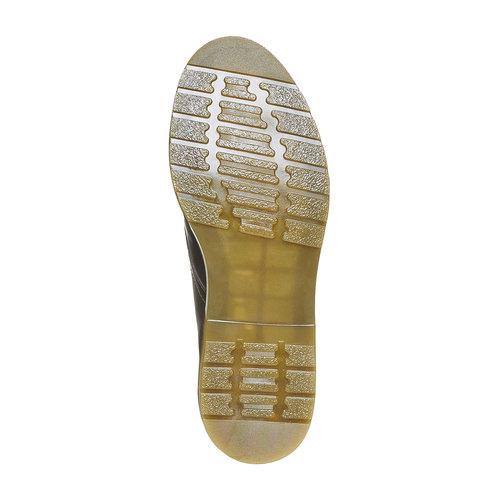 Scarpe basse da uomo in pelle bata, nero, 824-6355 - 26