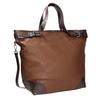 Borsetta in stile Tote Bag bata, marrone, 961-3206 - 13