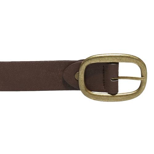 Cintura da donna con applicazioni bata, marrone, 951-4120 - 26