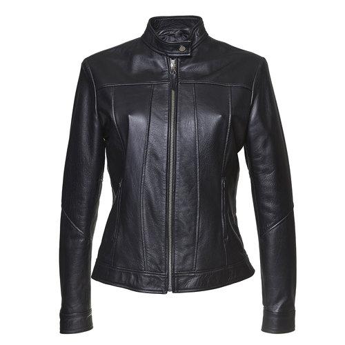 Giacca da donna in pelle bata, nero, 974-6146 - 13