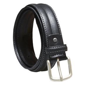 Cintura da uomo in pelle bata, nero, 954-6128 - 13