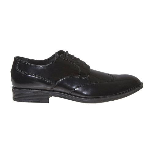 Scarpe basse da uomo in stile Derby bata, nero, 821-6430 - 15
