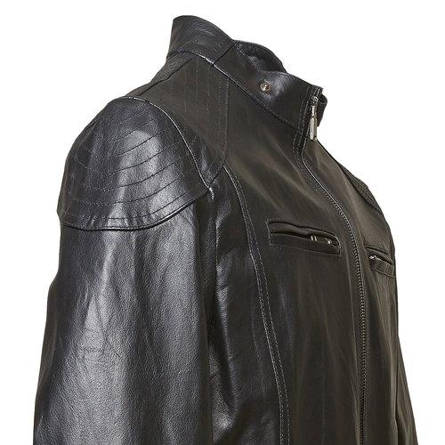 Giacca da uomo in pelle bata, nero, 974-6144 - 16