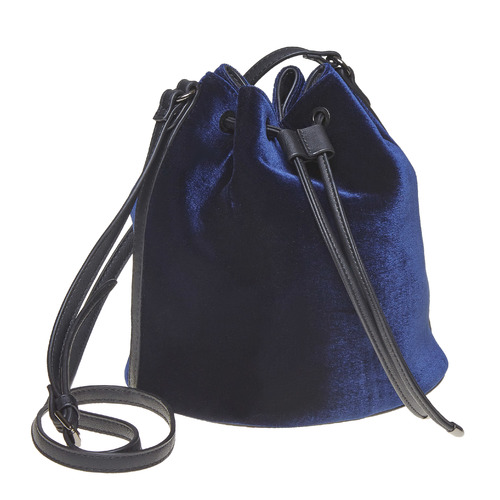 BORSETTA IN PELLE STILE BUCKET BAG bata, viola, 969-9319 - 13