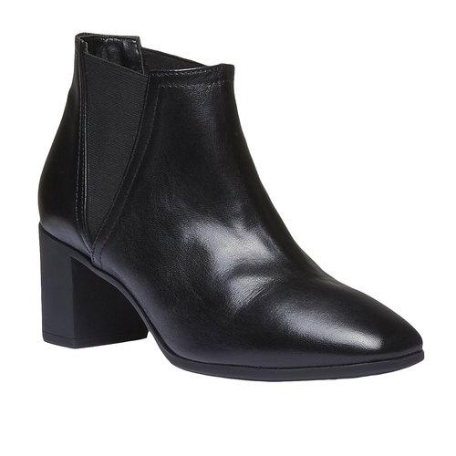 Scarpe da donna alla caviglia flexible, nero, 694-6627 - 13