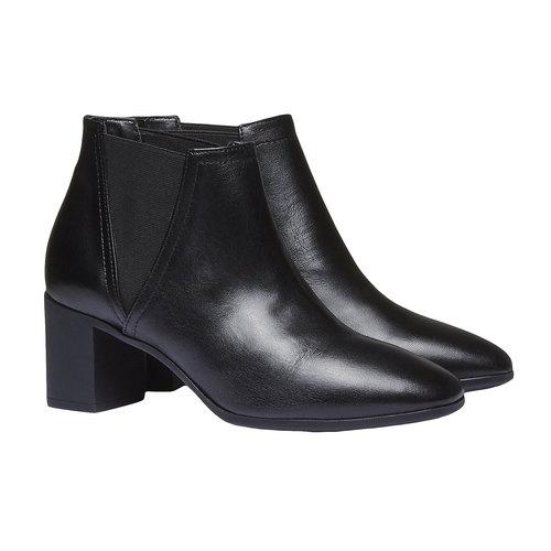 Scarpe da donna alla caviglia flexible, nero, 694-6627 - 26