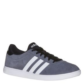 Sneakers da uomo in pelle adidas, grigio, 803-2222 - 13