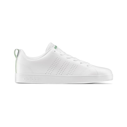 Sneakers bianche da bambino adidas, bianco, verde, 401-1233 - 26
