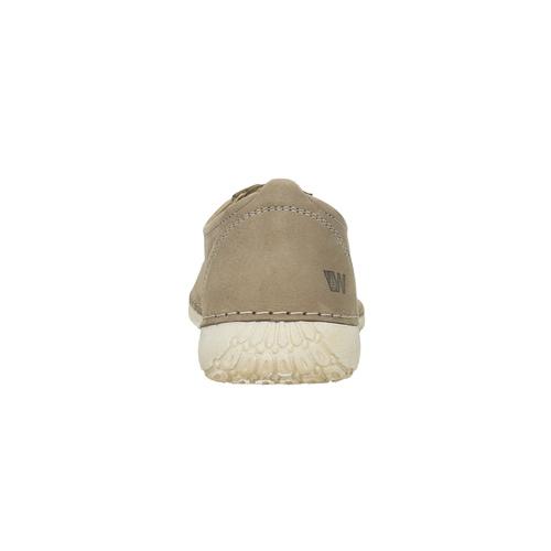 Sneakers comode in pelle weinbrenner, grigio, 544-2151 - 17