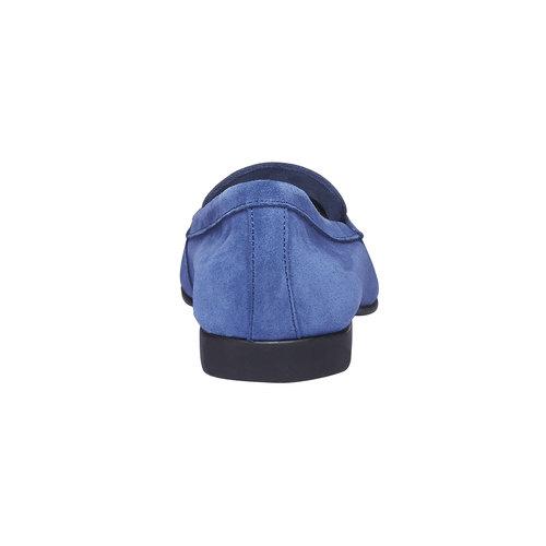 Penny Loafer di pelle flexible, blu, 513-9196 - 17