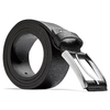 Cintura nera in pelle bata, nero, 954-6833 - 26