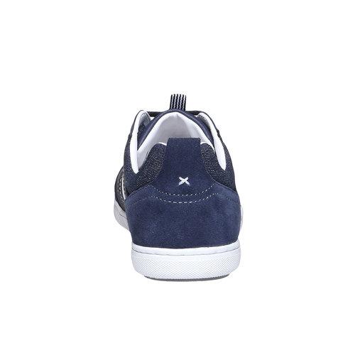 Sneakers informali da uomo bata, viola, 841-9633 - 17