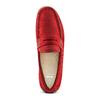 Mocassini di pelle bata, rosso, 853-5180 - 17