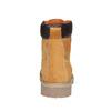 Scarpe in pelle con suola a carro armato weinbrenner, giallo, 896-8820 - 17
