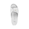 Slip-on da donna in pelle bata-comfit, bianco, 574-1250 - 17