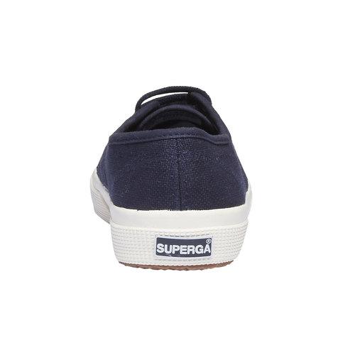 Sneakers di tela superga, blu, 589-9187 - 17