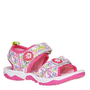 Sandali da ragazza con chiusura a velcro primigi, bianco, 261-0142 - 13