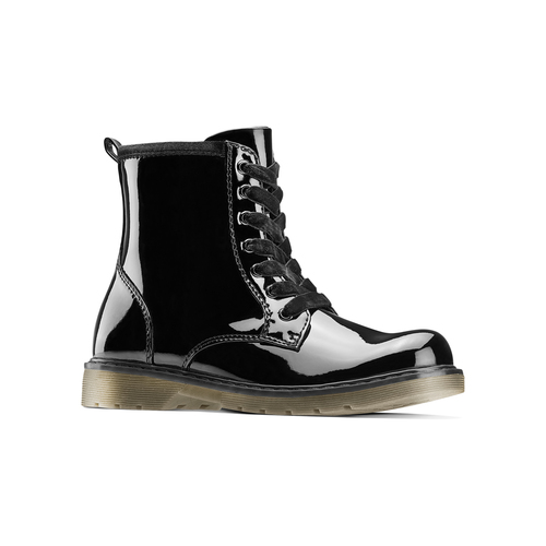 Scarpe alla caviglia con suola massiccia mini-b, nero, 391-6259 - 13