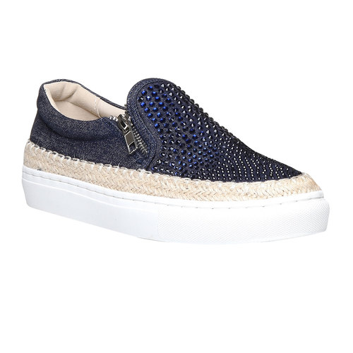 Plim Soll con strass north-star, blu, 519-9195 - 13