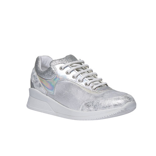 Sneakers metallizzate north-star, bianco, 549-1232 - 13