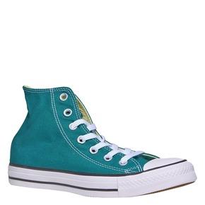 Sneakers da donna alla caviglia converse, verde, 589-9378 - 13