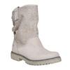 Scarpe di pelle alla caviglia weinbrenner, beige, 596-8405 - 13