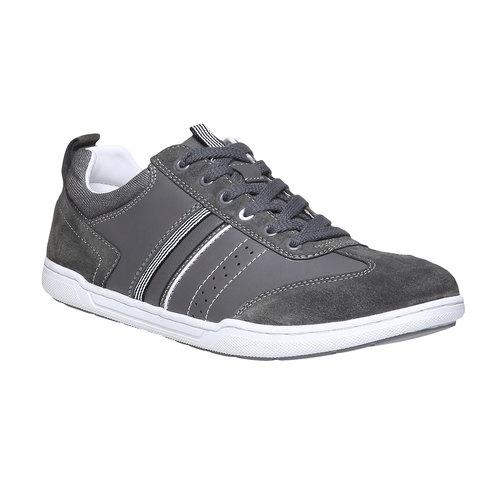 Sneakers informali da uomo bata, grigio, 841-2633 - 13