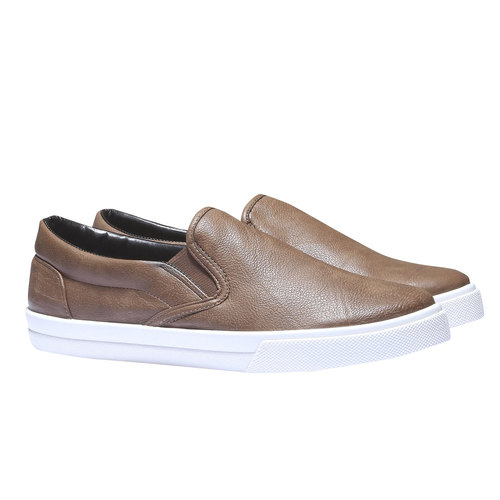 Scarpe uomo north-star, marrone, 831-8111 - 26