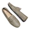 Mocassini in suede bata, grigio, 853-2180 - 26