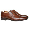 Scarpe basse da uomo in pelle in stile Derby bata-the-shoemaker, marrone, 824-3187 - 26