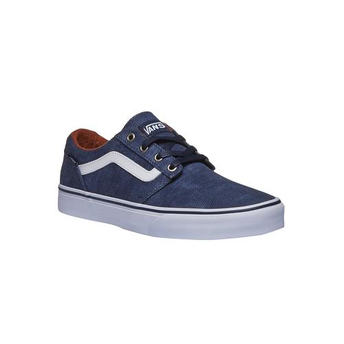 Sneakers da uomo con tomaia in denim vans, blu, 889-9204 - 13
